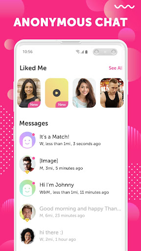 Yumi: Hookup & Anonymous Chat App for NSA Dating 2.7.10 Screenshots 3
