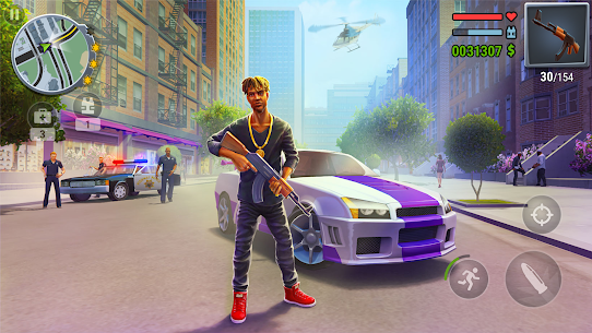 Gangs Town Story – action open-world shooter v0.15.1b (Mod – free shopping) 1
