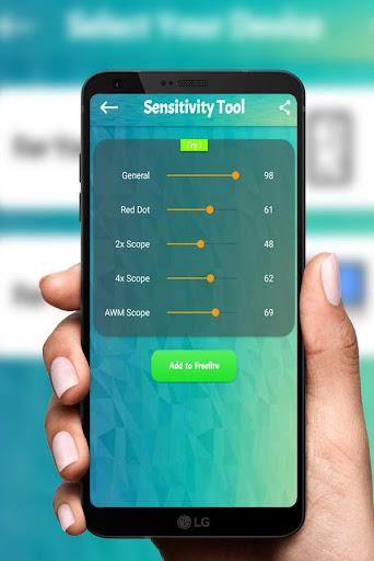 Headshot and GFX Tool for Free Fire Sensitivity 1.8 Screenshots 5