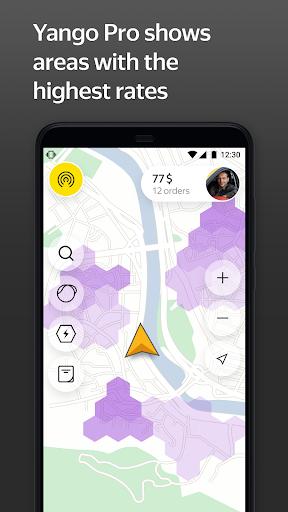 Yango Pro (Taximeter)u2014Driver job in taxi for ride 9.58 screenshots 2