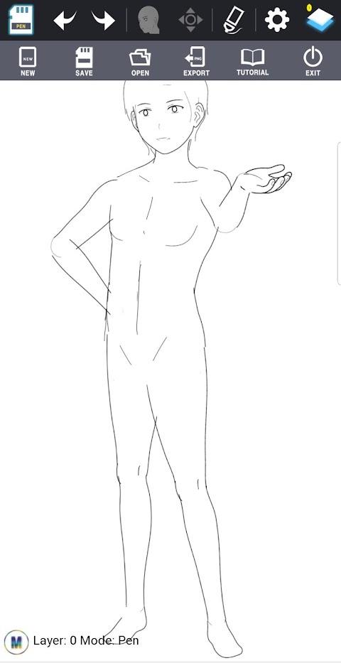 Character Maker -How to drawのおすすめ画像5