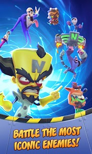 Crash Bandicoot: On the Run! (MOD, Unlimited Money) For Android 3