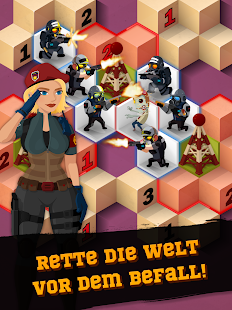 Zombie Sweeper: Minesweeper-Action-Puzzle Screenshot