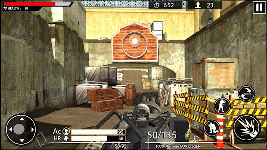 Machine Gun Shoot War Shooter 2k18 Game Hack Android and iOS 3
