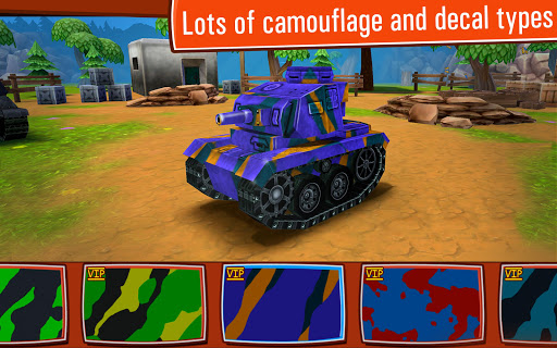 Toon Wars: Awesome PvP Tank Games 3.62.3 screenshots 4