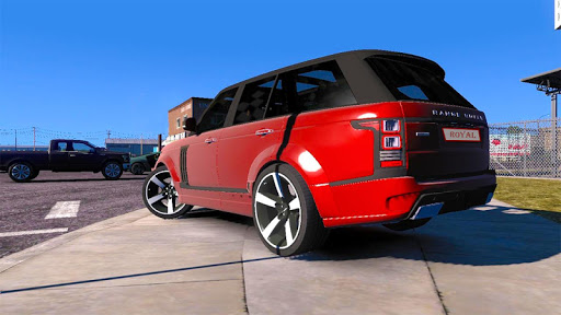 Luxury Prado Jeep Spooky Stunt Parking Range Rover 0.18 screenshots 4