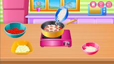 キッチンで調理のおすすめ画像4