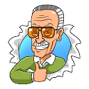 Stickers Stan Lee