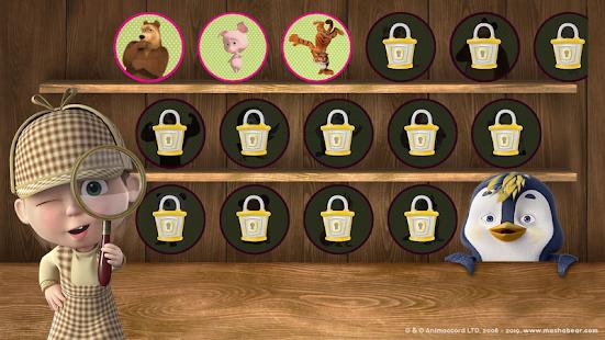Free games: Masha and the Bear 1.4.7 Screenshots 24