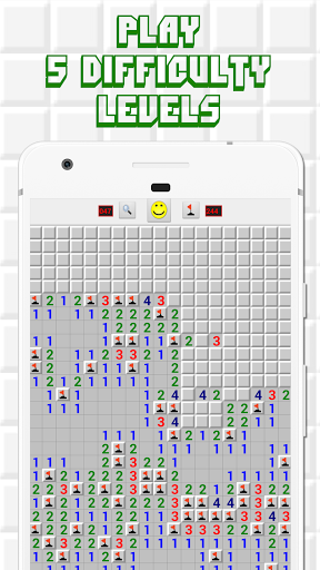 Minesweeper for Android - Free Mines Landmine Game  screenshots 2