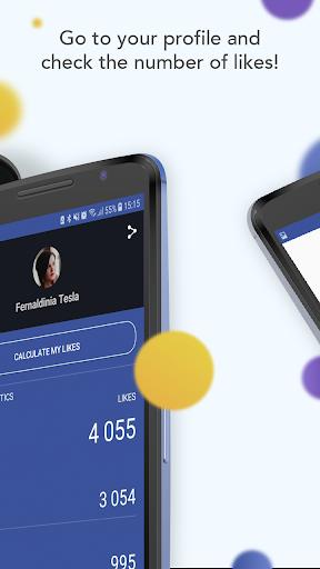 Likulator - likes counter for Facebook 1.0.0 Screenshots 2