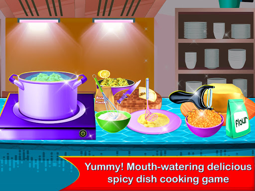 Yummy! Famous Indian Street Food Cooking Game  screenshots 3
