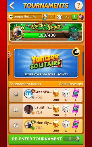 YAHTZEEu00ae With Buddies Dice Game 7.7.0 screenshots 24