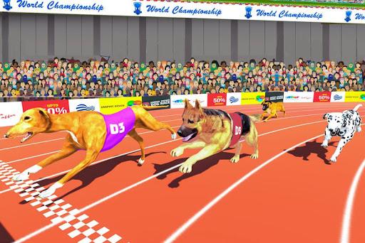 Dog Race Sim 2019: Dog Racing Games  screenshots 3