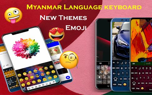 Myanmar Keyboard 2020: Zawgyi Language typing 1