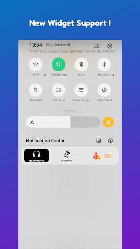 Disable Headphone(Enable Speaker)  screenshots 2