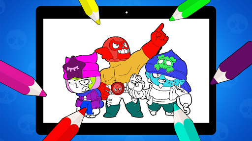 Coloring Pages for Brawl BS  screenshots 12