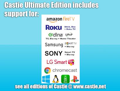 Castie TV Cast   Roku Remote & Movie Stream App