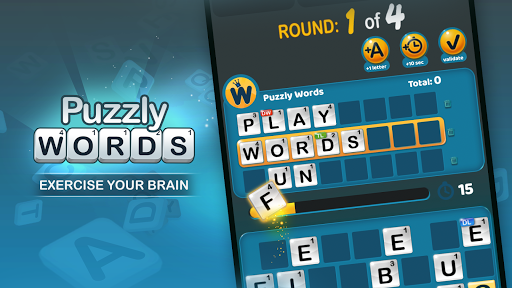 Puzzly Words: online word game modiapk screenshots 1