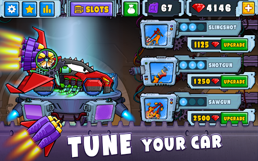 Car Eats Car 2 - Racing Game apktram screenshots 13