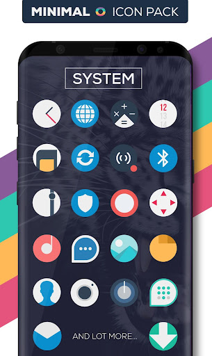 Minimal O - Icon Pack apktram screenshots 2