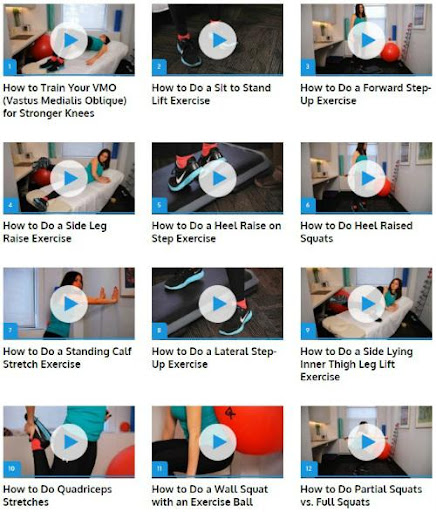 Knees Therapy Guide  screenshots 1