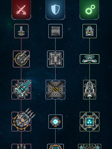 Space Arena: Spaceship game - Build & Fight android2mod screenshots 4