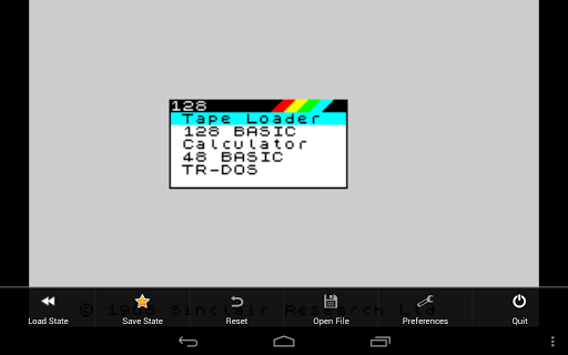 USP - ZX Spectrum Emulator 0.0.86.14 screenshots 11