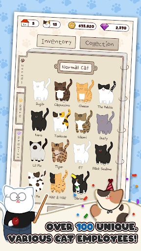 Cat Inc.: Idle Company Tycoon Simulation Game 1.0.21 screenshots 3