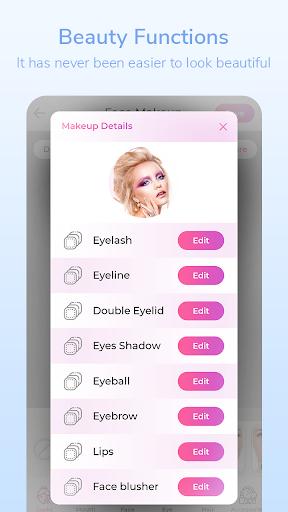 Beauty Photo Editor,Pretty Makeup & Selfie Camera 1.7.12 Screenshots 6
