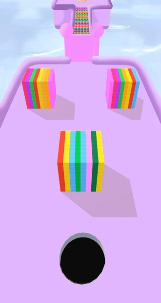 Color Hole 3D Android App Screenshot