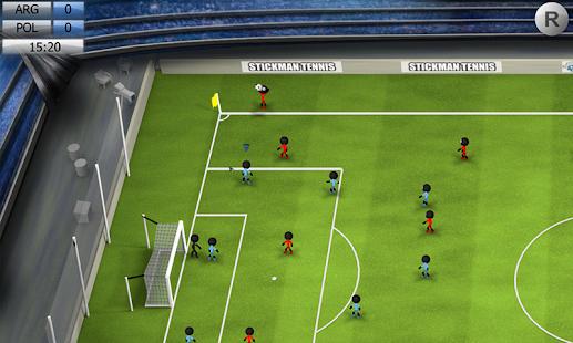 Στιγμιότυπο οθόνης Stickman Soccer 2014