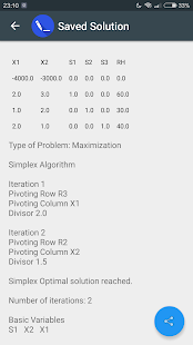Operations Research LP Solver