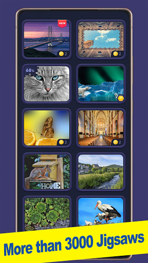 ColorPlanetu00ae Jigsaw Puzzle HD Classic Games Free apkpoly screenshots 6