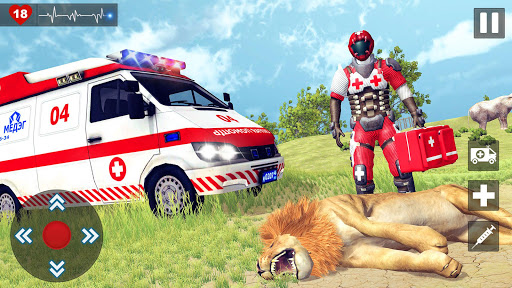 Animals Rescue Game Doctor Robot 3D  screenshots 4