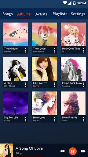 Music player android2mod screenshots 2