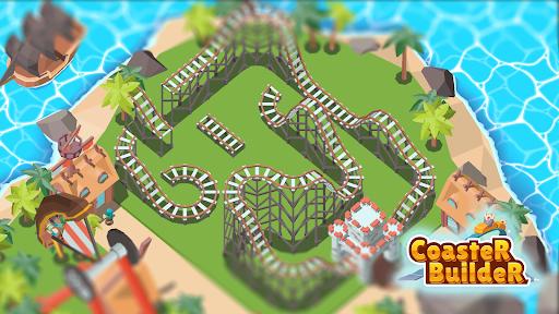 Coaster Builder: Roller Coaster 3D Puzzle Game  screenshots 24