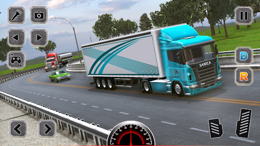 Euro Truck Driving Simulator Game  screenshots 10