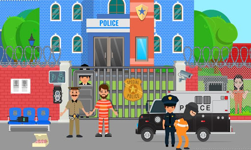 Pretend Play Police Officer Prison Escape Sim 1.0.3 screenshots 1