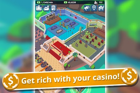 Idle Casino Manager Mod Apk- Business Tycoon Simulator (Free Upgrade) 4