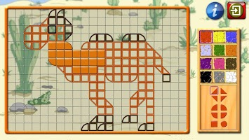 Kids Mosaic Art Shape and Color Picture Puzzles