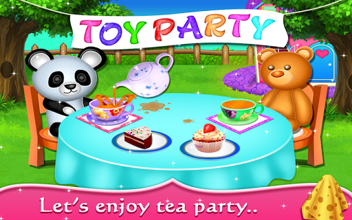 My Baby Doll House - Tea Party & Cleaning Game screenshots 4