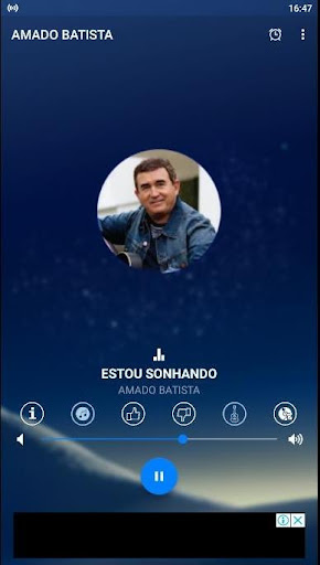 amado batista radio screenshot 1