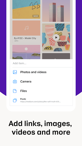 Collect by WeTransfer 5.0.2 Screenshots 2