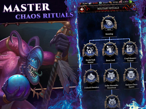 Warhammer: Chaos & Conquest - Real Time Strategy 1.20.90 screenshots 10