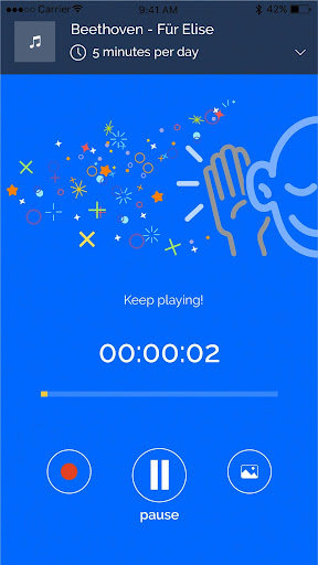 tonara - manage & motivate music students to play screenshot 1