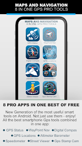 MAPS AND NAVIGATION 8 IN ONE GPS PRO TOOLS 1.7 (Premium) (Lite) (Arm64-v8a)
