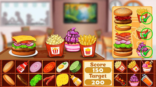 Fast Food  Cooking and Restaurant Game android2mod screenshots 5