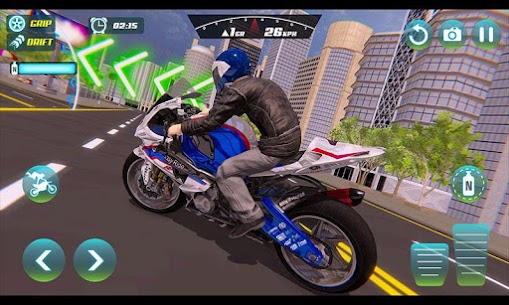 City Bike Driving Simulator-Real Motorcycle Driver 7