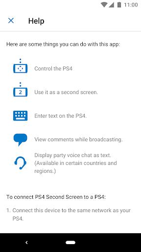 PS4 Second Screen  screenshots 2
